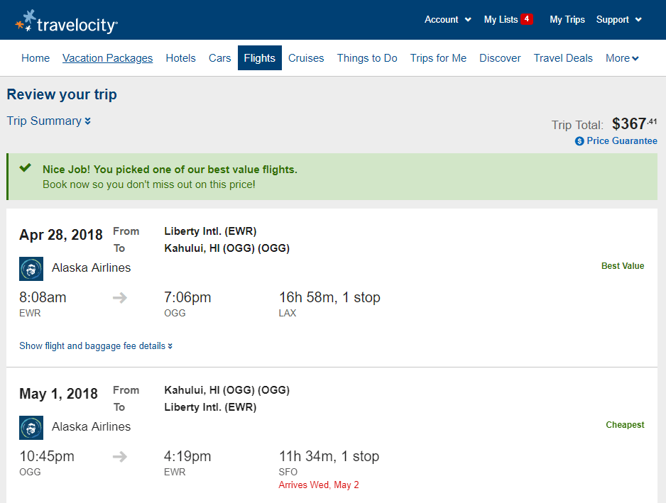 How to Cancel a Flight Made Through Travelocity - Getaway Tips.