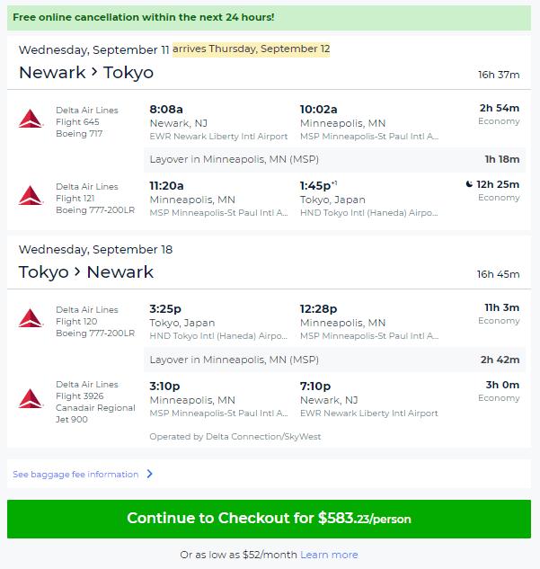 04 30 2019 Ewr Hnd Escape Flights