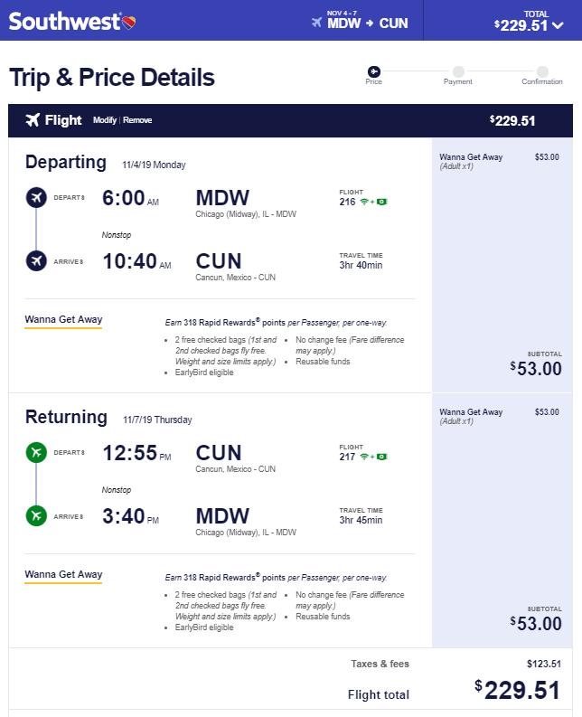 04 01 2019 Mdw Cun Escape Flights